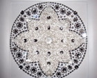 Mandala Cristal Branco mdia