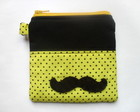 Carteira Quadrada Mustache
