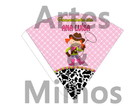 Cone Personalizado Fazendinha Rosa