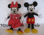Bonecos Minnie e Mickey