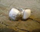 anel agata branca howlite