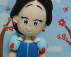 Branca de Neve com 25 cm