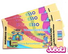 Convite Ingresso Circo