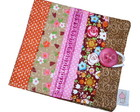 Porta Cart�o Patchwork