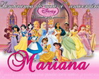 Carto de Agradecimento Princesas Disney