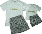 Kit Pijama Tal pai Tal filho