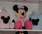Mochilinha personalizada Mickey e Minie