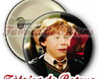 BOTONS 2,5cm RONY WEASLEY HARRY POTTER