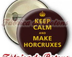 BOTON 2,5cm KEEP CALM HARRY POTTER