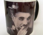Caneca chaplin com texto