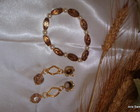 Conjunto de pulseira e Brincos