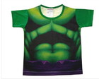 Camiseta infantil Incrivel Hulk