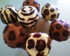 Cake pop Safari