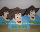 PORTA GUARDANAPO WOODY TOY STORY EM EVA