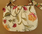 Bolsa Carol Floral tapearia