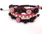 Kit shambala + macram rosa