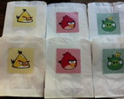 saquinho de pipoca: angry birds