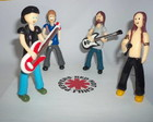 Miniatura banda Red Hot Chilli Peppers