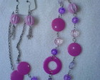 Conjunto lils e rosa
