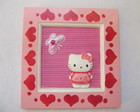Quadro Hello Kitty Rosa
