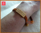 PULSEIRA CAMURA TERRA COM STRASS