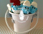 Colherzinha brigadeiro Smurfs
