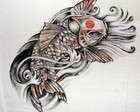 Carpa Oriental II :: S�rie Tatoo