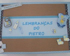 Caixa De Lembran�as do Beb� Menino 1