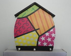 Porta chaves casinha decorado