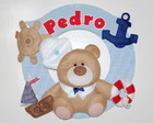 Enfeite porta Urso Marinheiro Cd.EUM_18