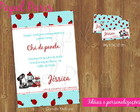 Kit Convite+tag Ch De Panela - Ref 072