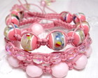 KIT PULSEIRAS SHAMBALA *ROSA*
