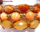 KIT PULSEIRAS SHAMBALA *LARANJA*