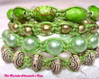 KIT PULSEIRAS SHAMBALA *VERDE*