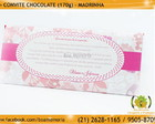 Convite Chocolate para Madrinhas
