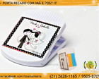 Porta Recado com  Im� e Post It