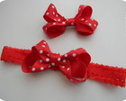 Conjunto Hair Bow - Heandband e Lacinho