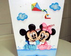 Lixeira Baby Disney azul