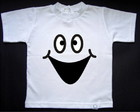 Camisetinha Fantasma Feliz