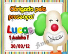 Tag Agradecimento &quot;Circo&quot;