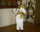 BONECO CIGANO DE PORCELANA