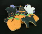 Biscoito decorado - Halloween