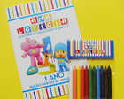 Kit De Colorir Pocoyo
