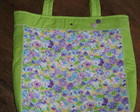 Bolsa ecobag floral