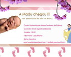 E-card Nascimento | Its a Girl