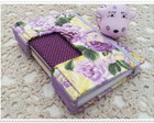 Caderno Longstitch Floral Lils