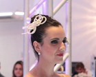 Fascinator La�o Veludo Off-white