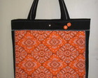 Bolsa Ecobag Bandana Laranja