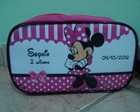 Necessaire Retangular Minnie e Mickey