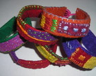 Pulseiras &quot;Color Felt&quot;